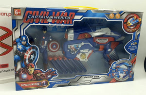 Captain America Civil War with Super Gun