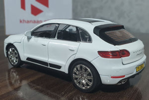 Metal Body Porsche Cayenne Turbo 2020 Die-Cast