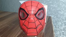 Load image into Gallery viewer, Spider Man Kids Mask with Lightning