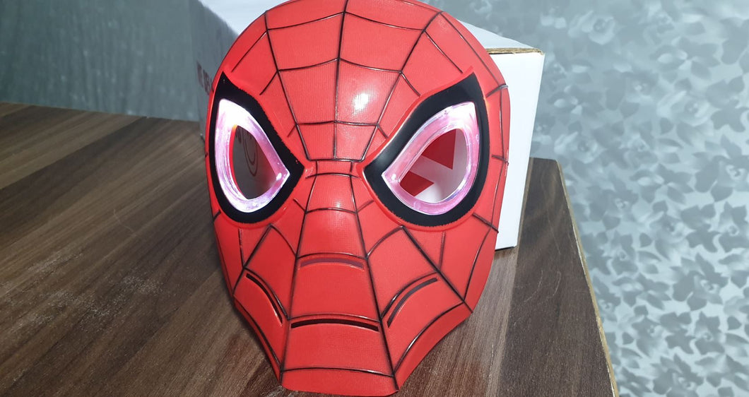 Spider Man Kids Mask with Lightning