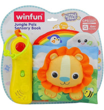 Load image into Gallery viewer, Winfun Jungle Pals Sensory Book
