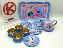 Load image into Gallery viewer, Disney Frozen Metal Tea Set at Khanaan