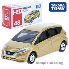 Load image into Gallery viewer, Tomy Takara Nissan Note - Diecast - Scale 1/63 - Appoximately 2.5 Inch in Length
