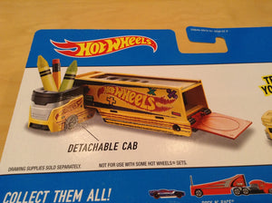 "HOT WHEELS 50th ""PENCIL PUSHER"" SCHOOL BUS CITY DXB40 toy vehicle"