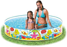 Load image into Gallery viewer, Intex 58477 Momai Duckling Snapset Inflatable Swimming Pool