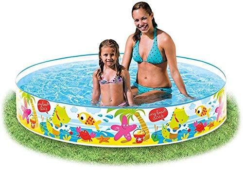 Intex 58477 Momai Duckling Snapset Inflatable Swimming Pool