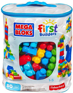 Mega Bloks, Big Building Bag, colourful