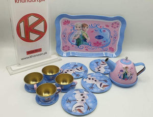 Original Disney Frozen Metal Tea Set