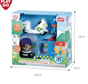 Police Patrol Chase Set By PlayGo for Kids