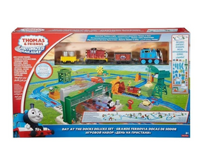 Thomas and Friends Motorolarized Railway Day The Docks Deluxe