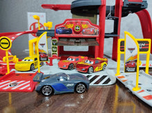 Load image into Gallery viewer, Disney Cars Parking Set