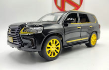 Load image into Gallery viewer, Best Die-Cast Lexus LX570 Cheap Priced Toy Of Metal Body With Light And Sound