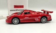Load image into Gallery viewer, Pagani Zonda Diecast Pull Back Car