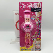 Load image into Gallery viewer, Barbie Projector Digital Wristwatch 2 in 1