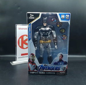 Marvel Avengers Batman Figure with Frisbee Launch