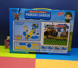 Military Combat Parking Garage Toy