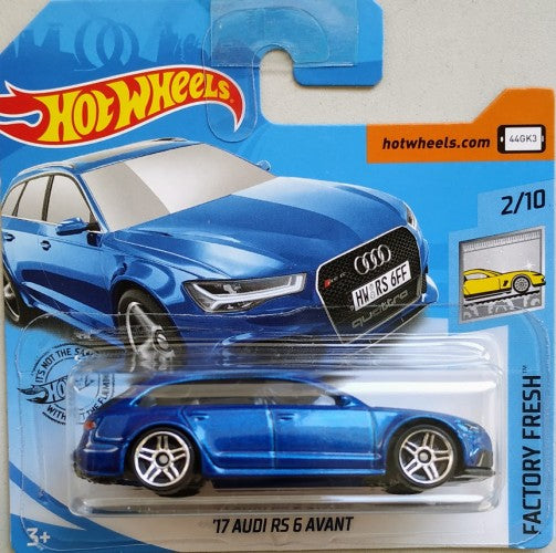 Hot wheels 17 Audi Rs 6 Avant