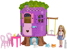 Load image into Gallery viewer, Barbie chelsea treehouse set