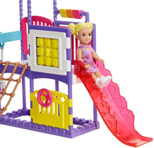Load image into Gallery viewer, barbie skipper babysitters inc doll & baby stroller playset