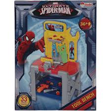 Dede Toy Spider man Power Repair Game Set With Bench