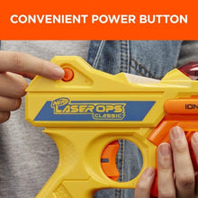 Load image into Gallery viewer, Hasbro Nerf Laser Ops Classic Ion Blaster 2-Pack