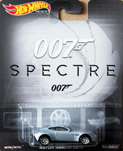 Load image into Gallery viewer, Hot Wheels Premium James Bond 007 Spectre Aston Martin Db10 Real Riders