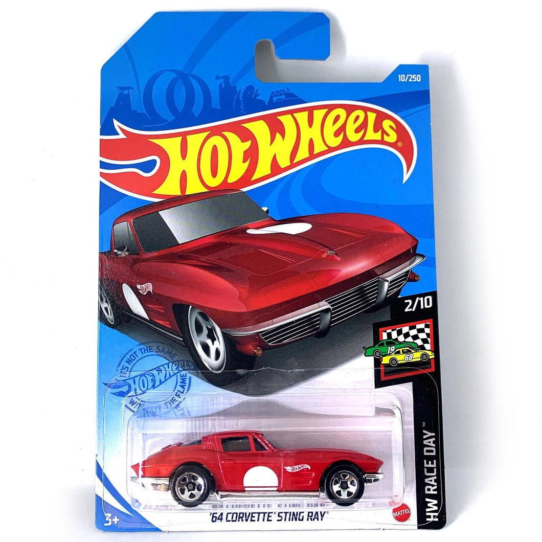 Hot Wheels 64 Corvette Sting Ray Diecast