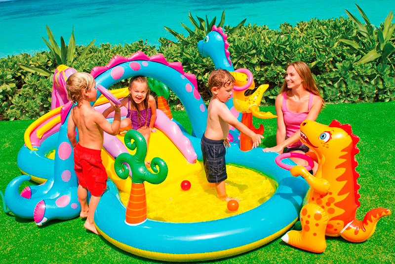 Intex 57135 Kids Water Park Dinoland