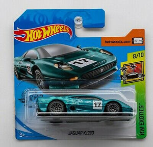 Hot Wheels Diecast Jaguar Xj220