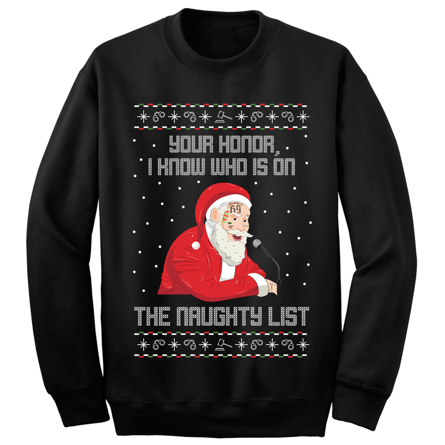 Your Honor Ugly Christmas Sweater