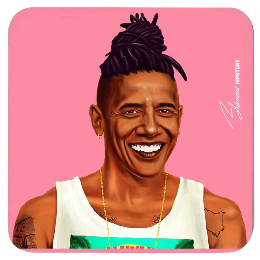 Hipstory Coasters 4-Pack