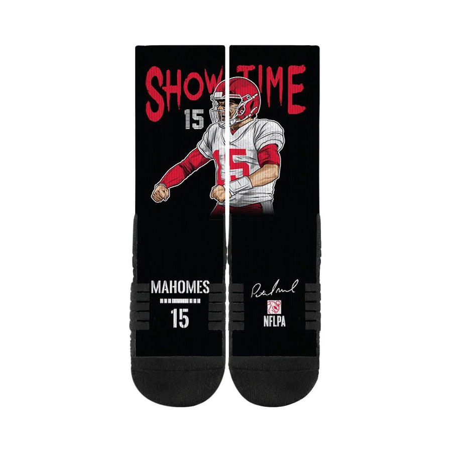 Patrick Mahomes Showtime Black Premium Socks