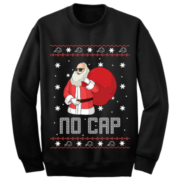 No Cap Ugly Christmas Sweater