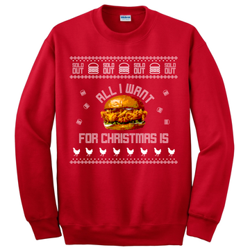 All I Want For Christmas Is Ugly Christmas Sweater