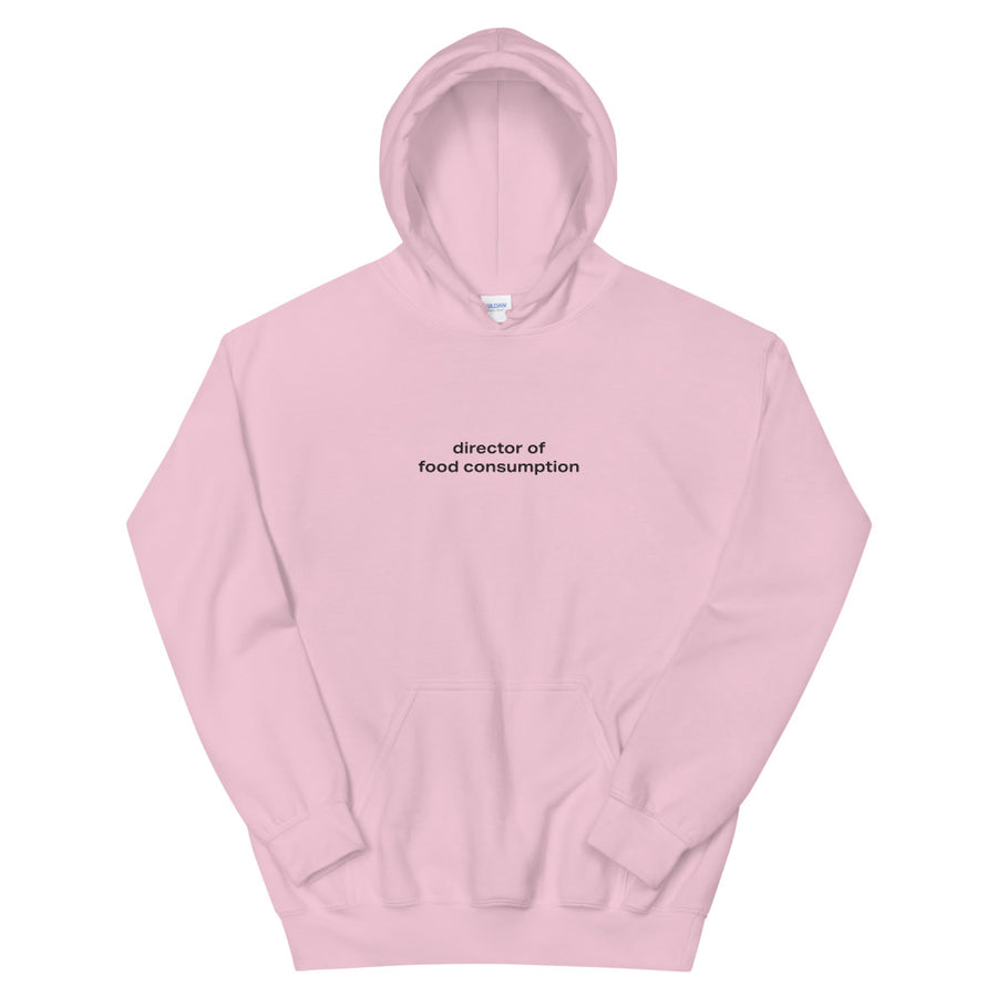 Director of Food Consumption Hoodie