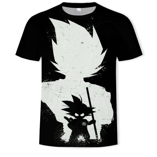 Dragon Ball T Shirt for men Fashion Desgin Brand O-neck short sleeve T-shirt cool comirt Large size Streetwear t shirt 6XL
