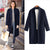 Mandarin Collar Open Long Coat