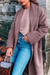 Women's Long Sleeve Lapel Cardigan