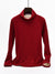 9 Colors Fur Lined Turtle Neck Winter Warm Top