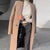Womens Fashion Solid Colour Overcoat