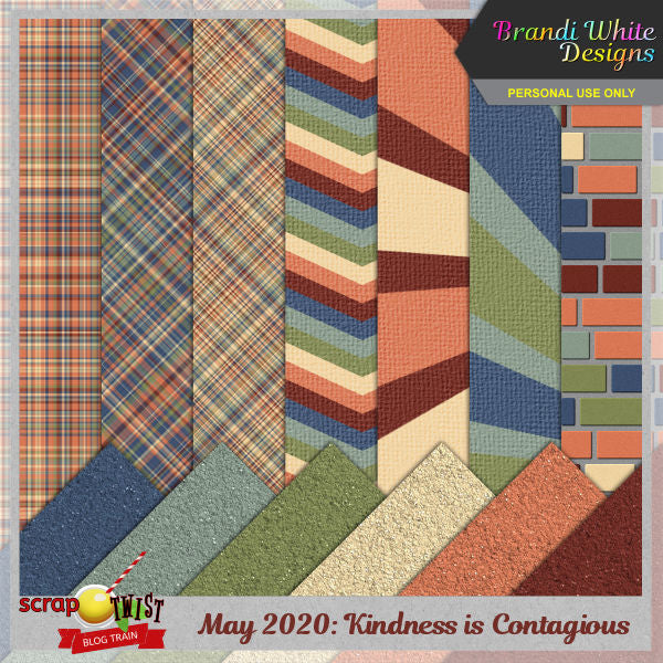 Blog Train: Scrap Twist May 2020 - Kindness is Contagious