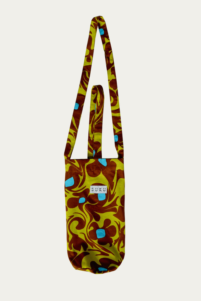 Forest Bloom Bottle Bag