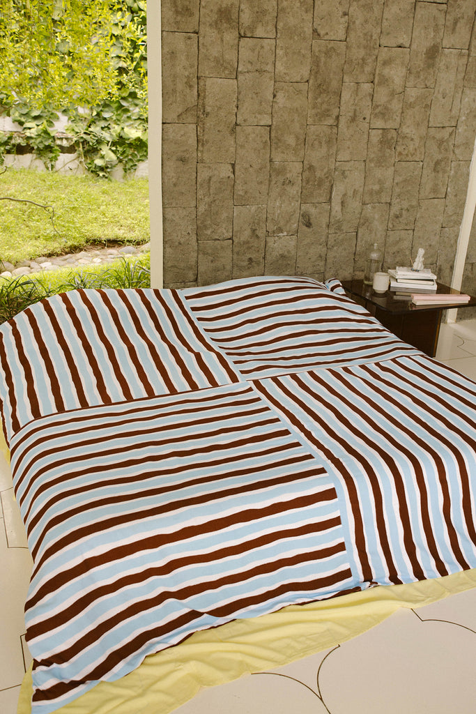 Stripes Quilt Cover Set