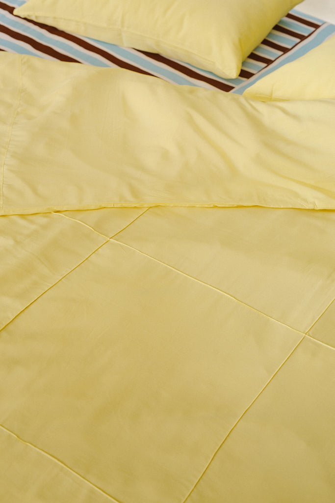 Butter Quilt Cover Set