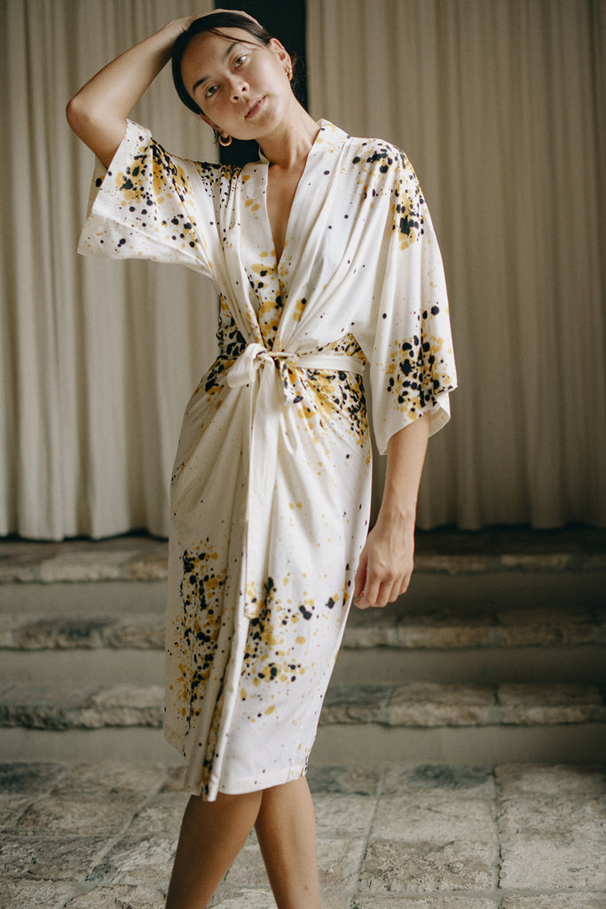 Sparkle Robe Dress