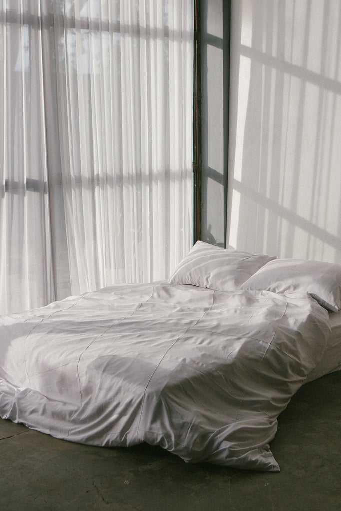 White Quilt Cover Set