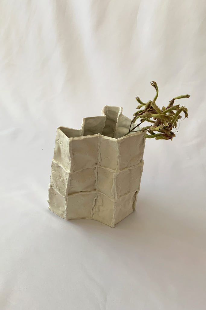 Tile Vessel in Porcelain #1