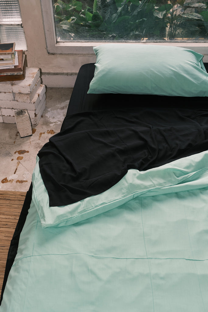 Ebony Quilt Cover Set