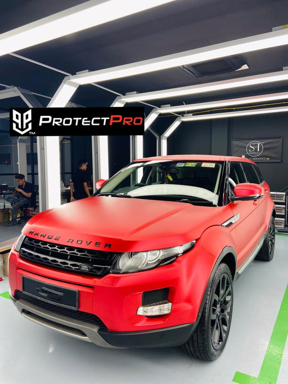 RANGE ROVER - CHROME CERAMICS RED