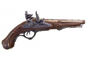 Denix Napoleon's Double Barrel Flintlock Pistol - France - 1806 - Avothea Store